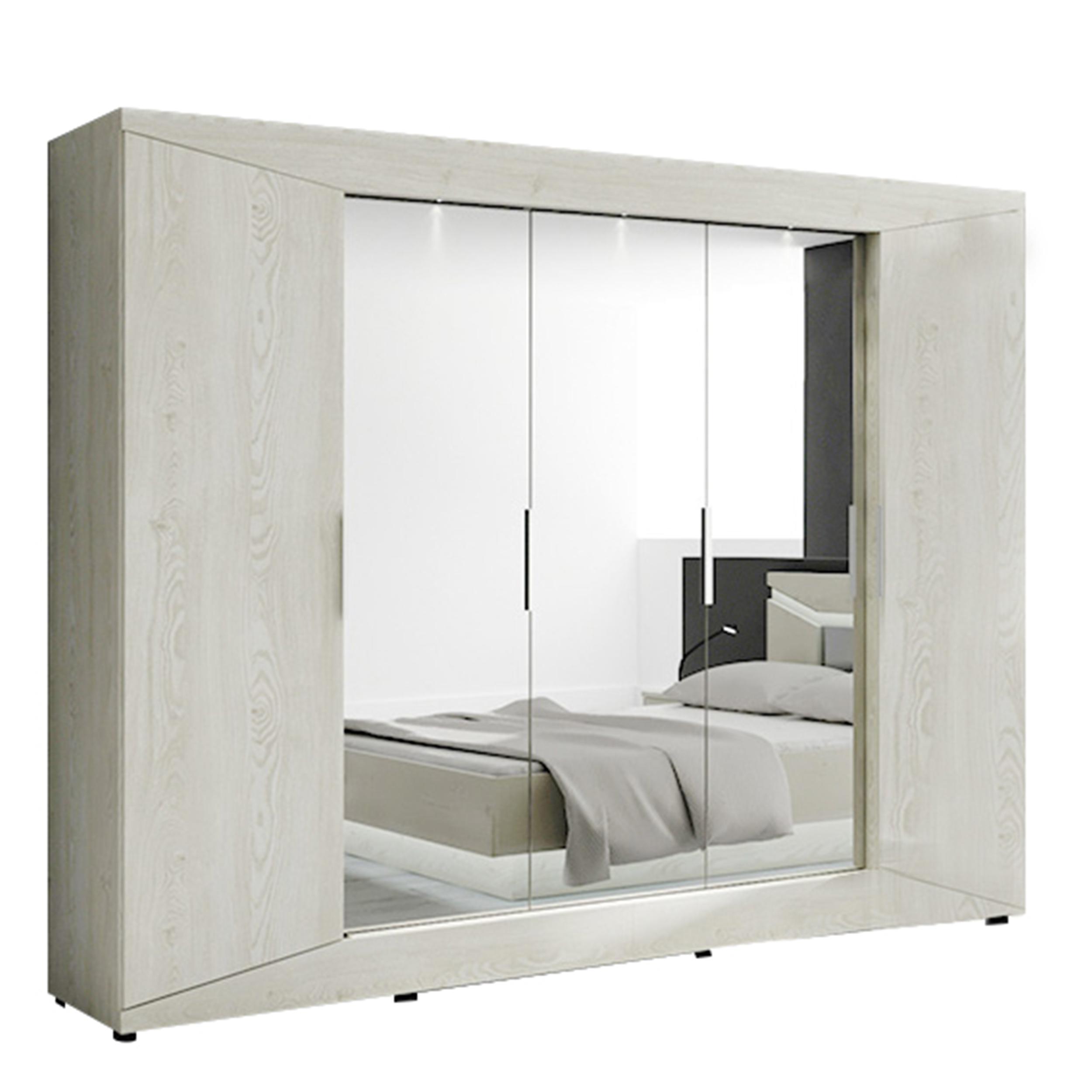kleiderschrank 5 t rig rubin ii a9rbuu75 von wohnorama. Black Bedroom Furniture Sets. Home Design Ideas