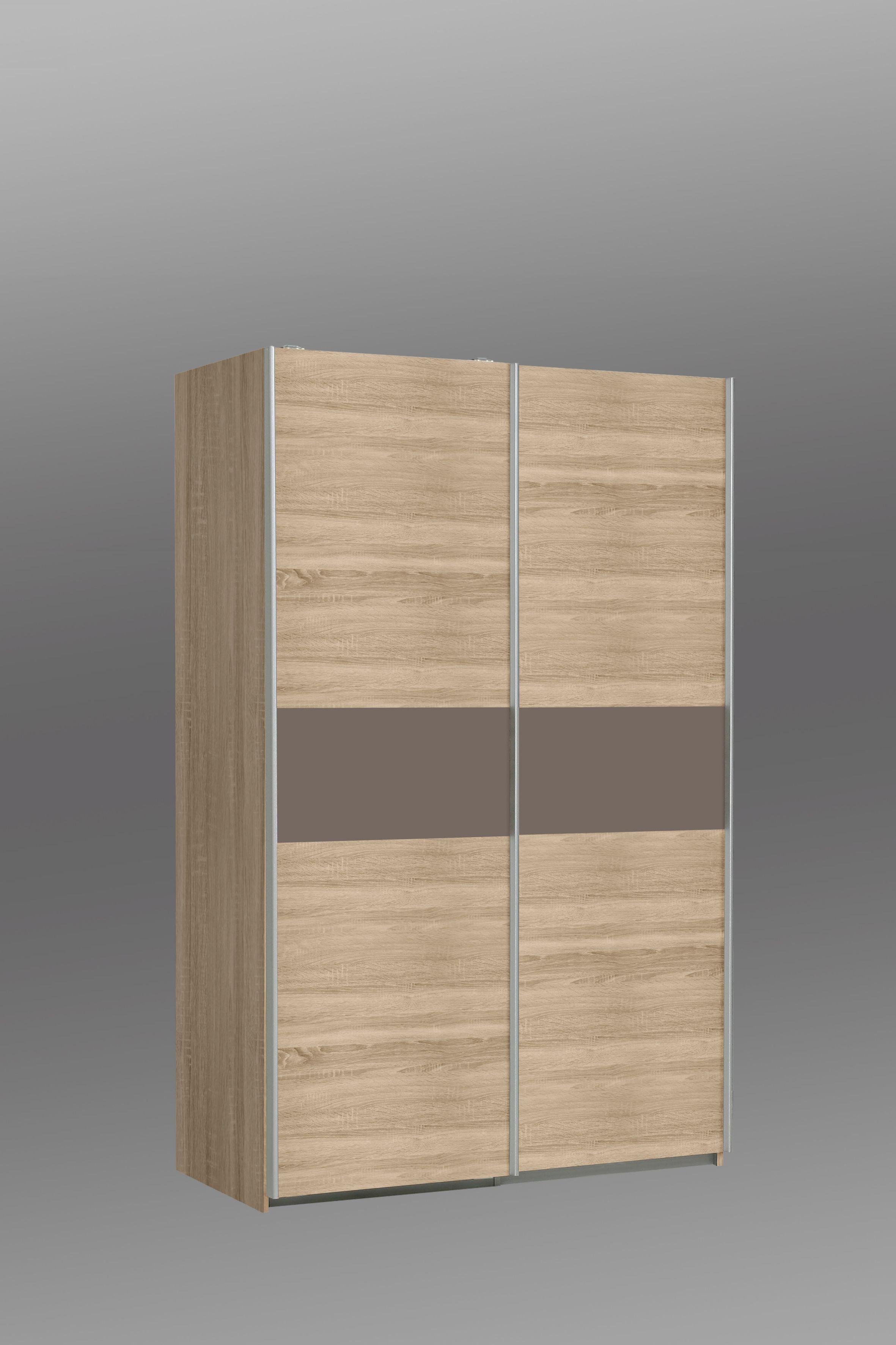 Kleiderschrank holz modern  Kleiderschrank Ohio von Forte Sonoma Eiche / Cacao