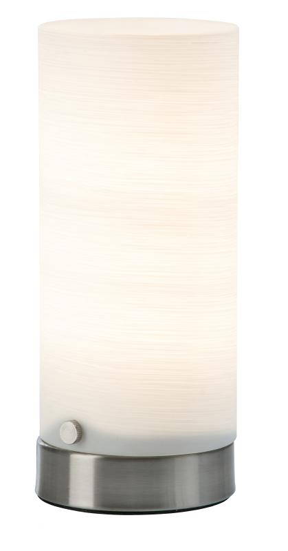 LED Tischleuchte MAIK von Nino Nickel matt / matt Weiss