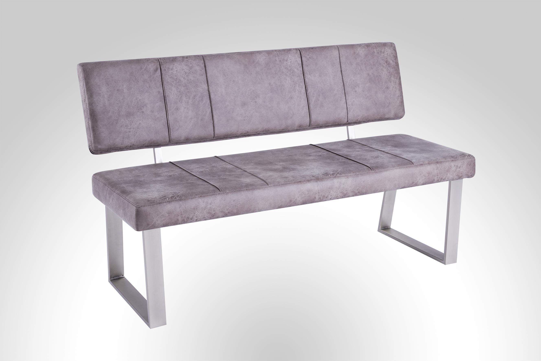 sitzbank st trieste kunstleder vintage hellbraun von reality import. Black Bedroom Furniture Sets. Home Design Ideas