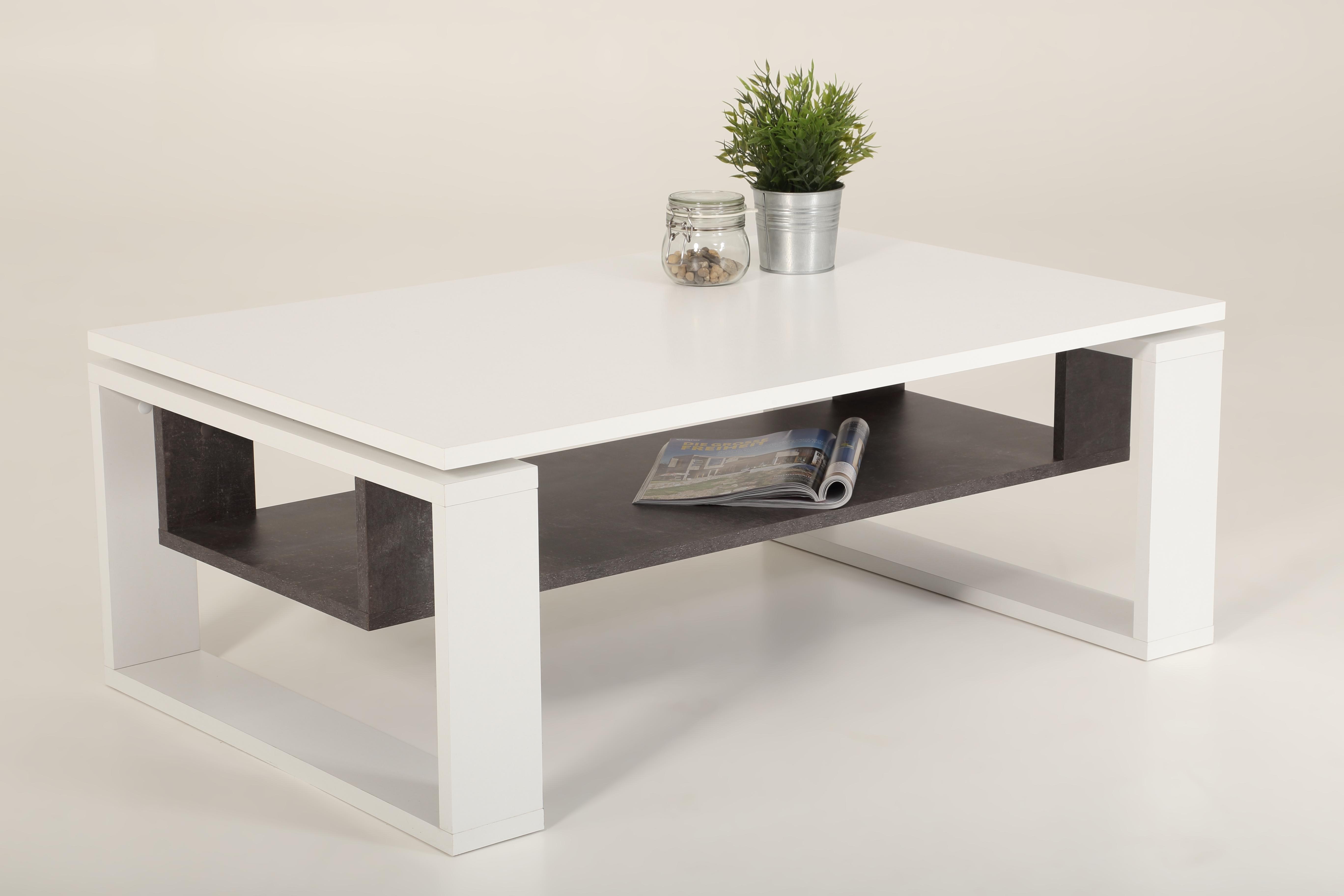 couchtisch nick von hela weiss beton. Black Bedroom Furniture Sets. Home Design Ideas