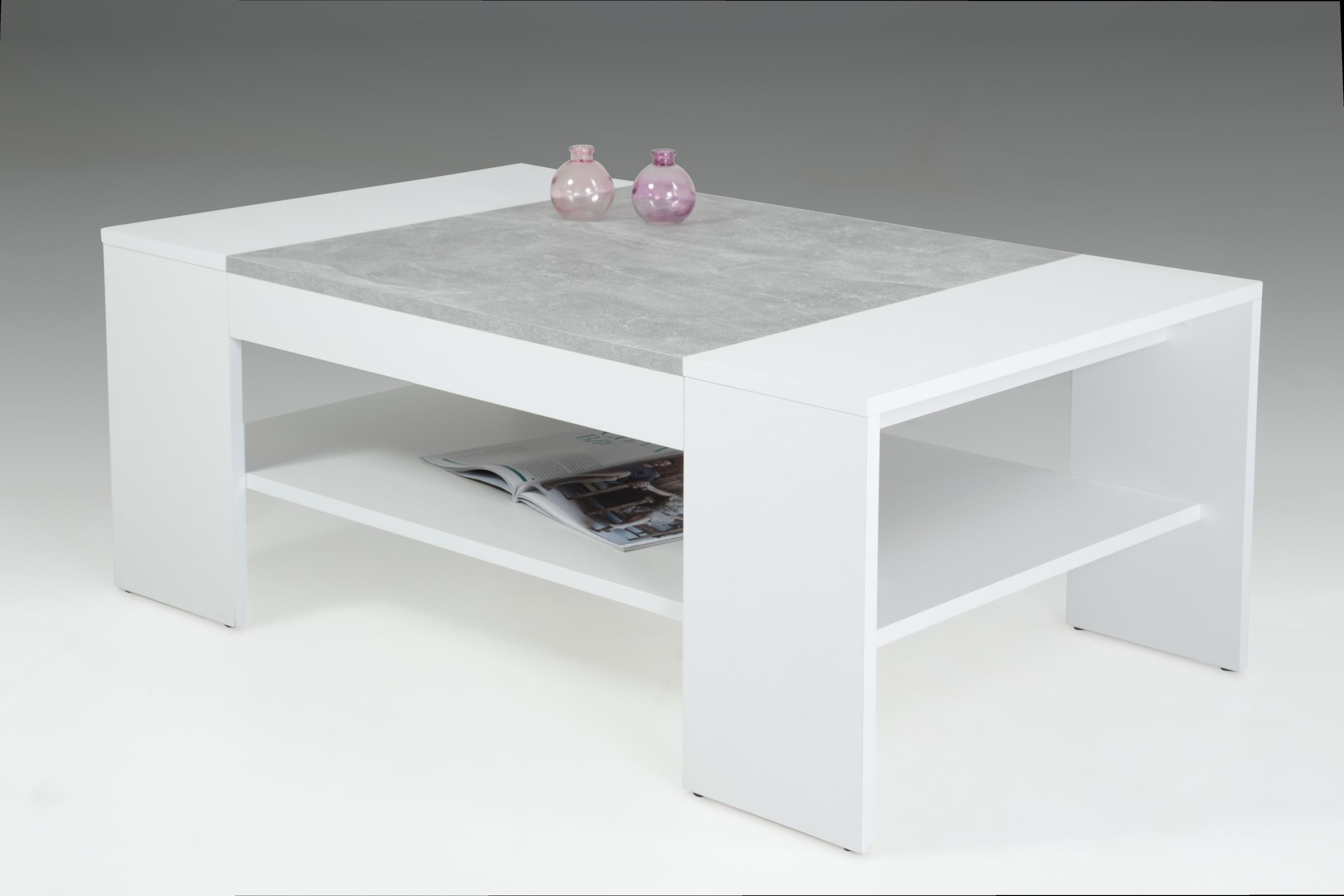 Couchtisch OLIVER von Hela Weiss / Beton