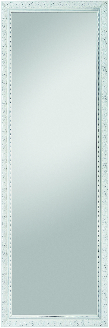 rahmenspiegel pius 50x150 cm wei. Black Bedroom Furniture Sets. Home Design Ideas