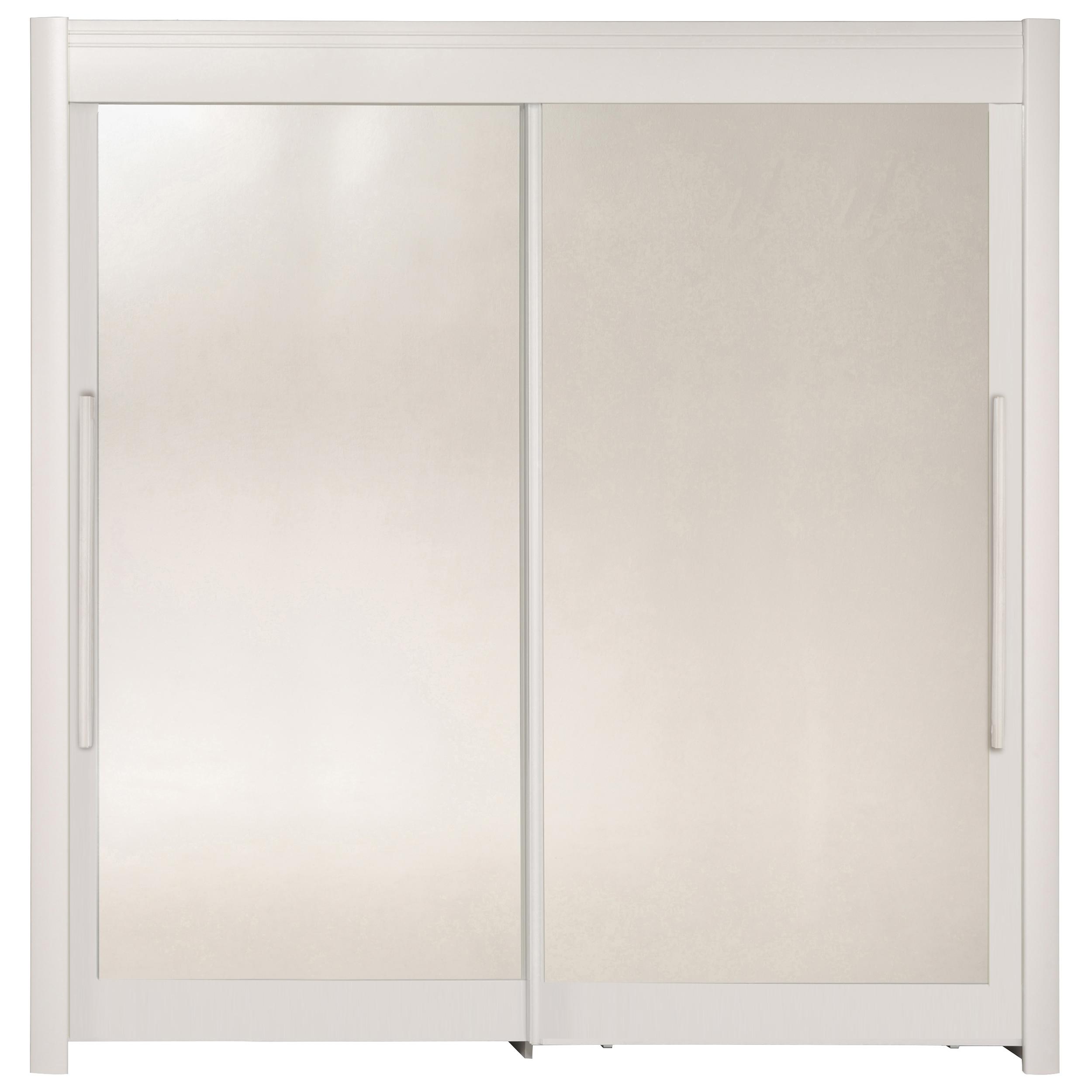 Schwebetürenschrank inkl Spiegeltüren Celebrity 3 von Parisot Weiß