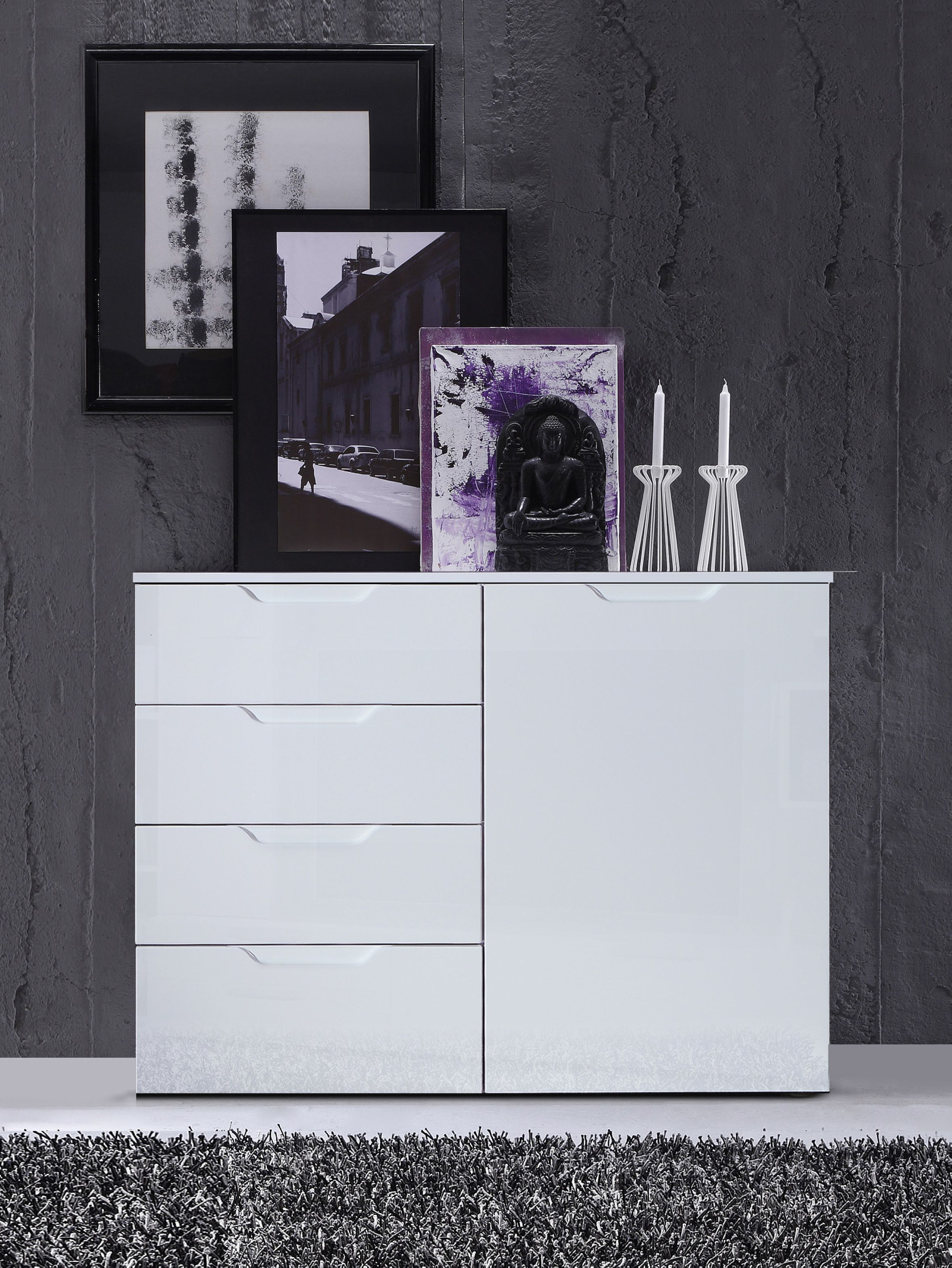 sienna kommode f r wohnzimmer. Black Bedroom Furniture Sets. Home Design Ideas