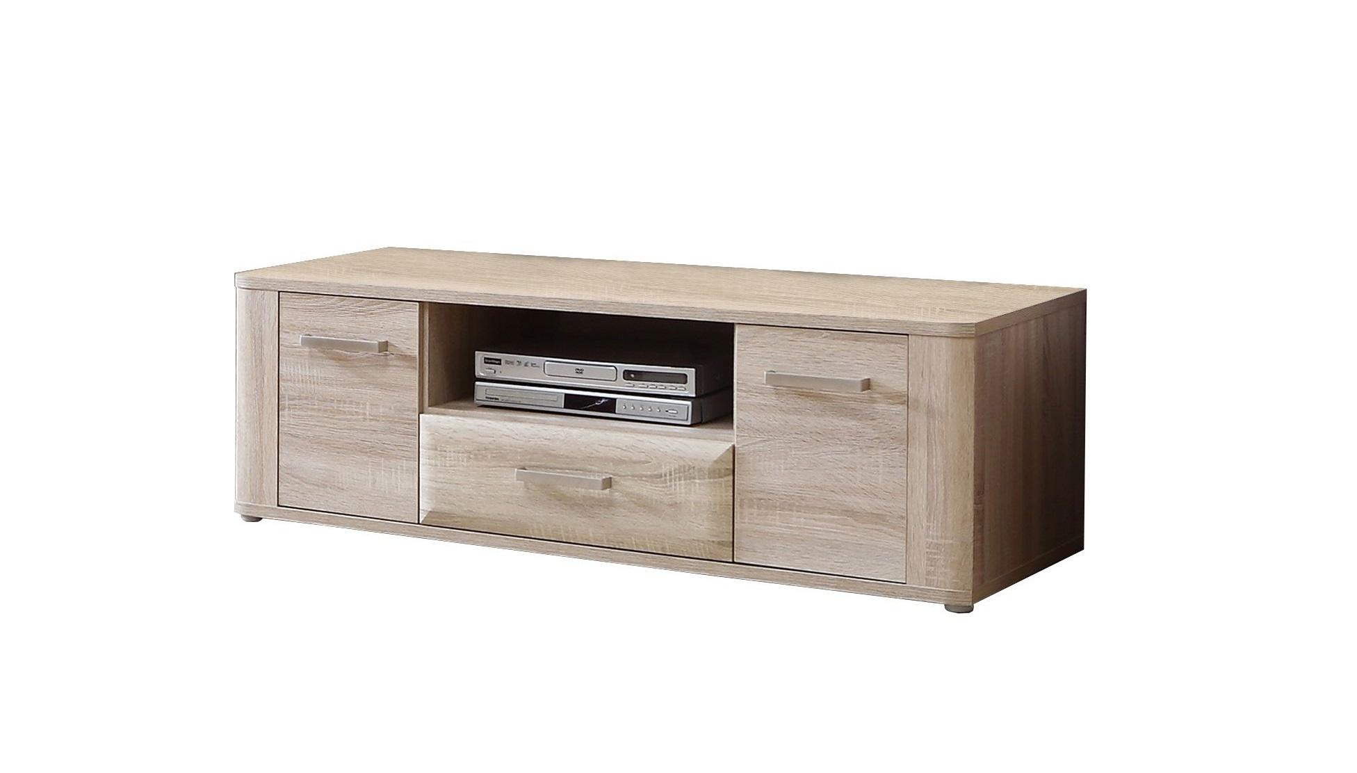 tv lowboard spencer von forte sonoma eiche. Black Bedroom Furniture Sets. Home Design Ideas