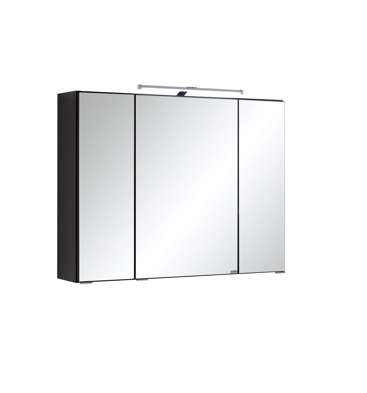 spiegelschrank-80-inkl-led-beleuchtung-bologna-von-held-moebel-graphit-1-2 Spannende Spiegelschrank Mit Led Beleuchtung Dekorationen