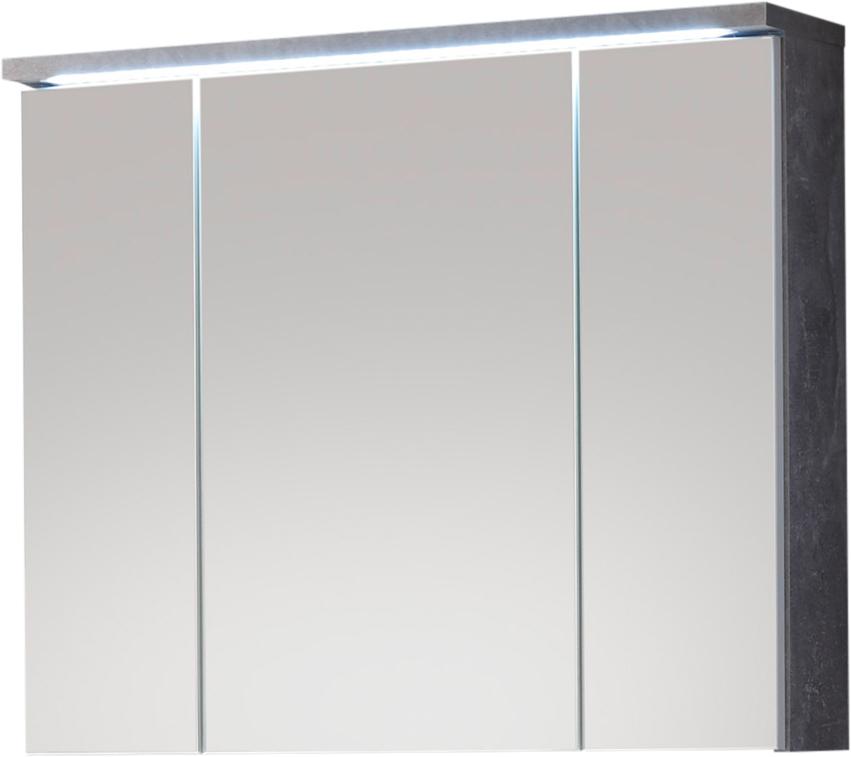 Gut bekannt Spiegelschrank inkl LED Beleuchtung POOL von Bega Beton / Weiss GW48