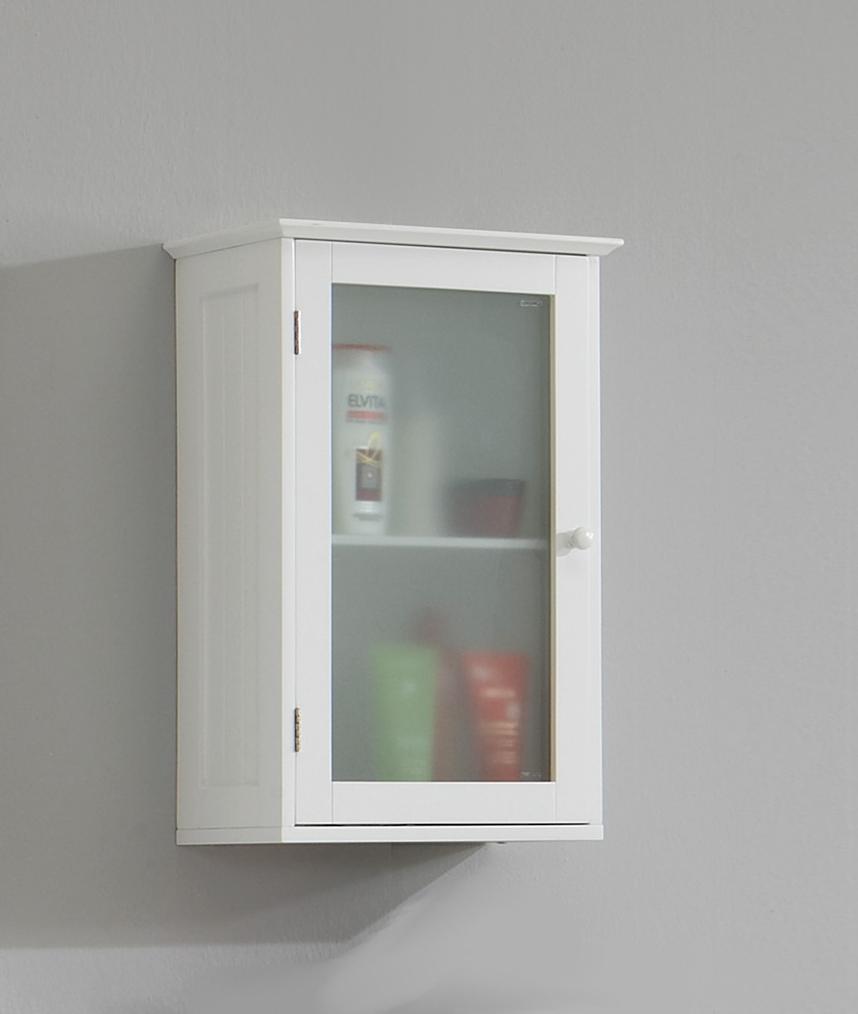 STOCKHOLM 5 Badezimmerwandschrank MDF-weiß-lackiert