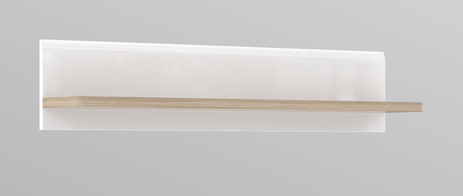 Wandregal Inkl Beleuchtung Attention Von Forte Weiss Sonoma