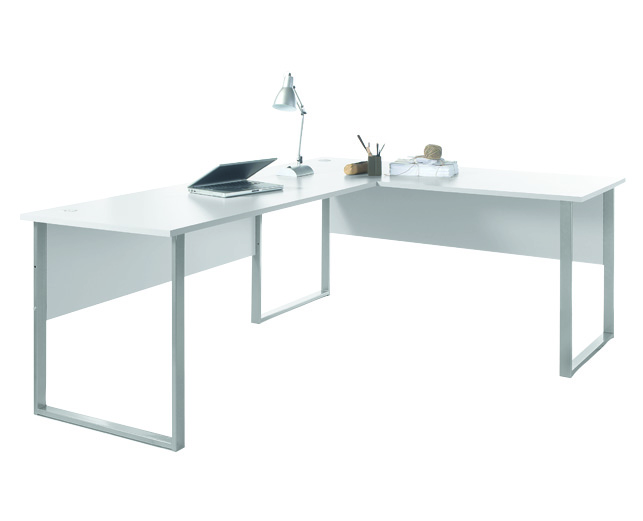 Winkelkombination Office Lux Von Bega Lichtgrau