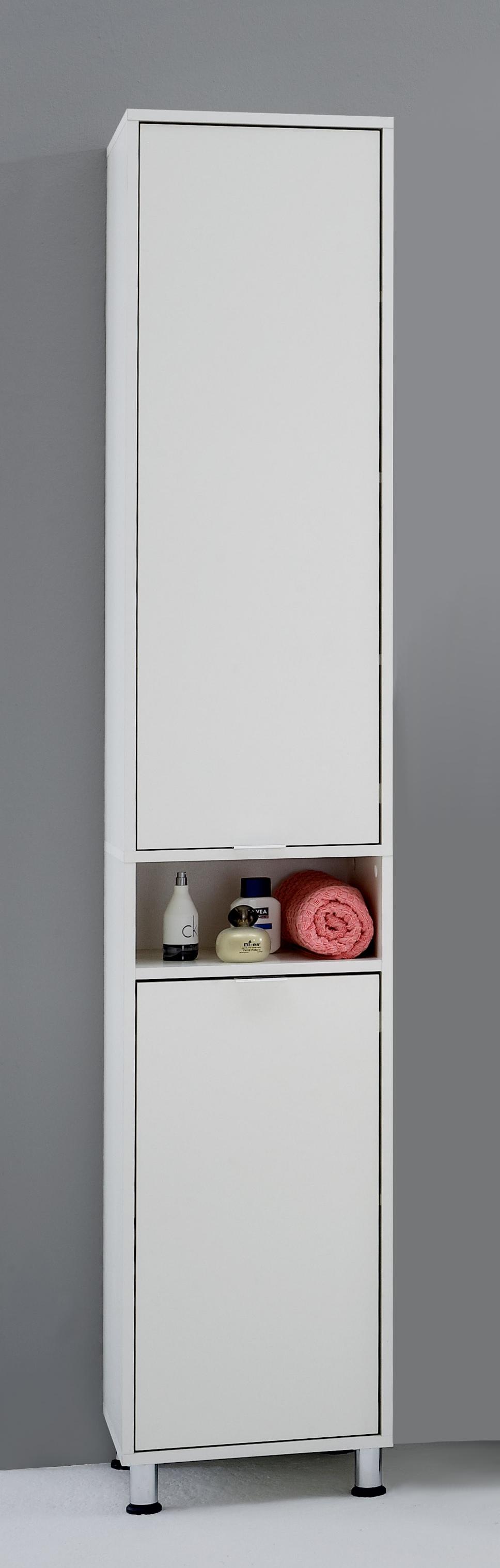ZAMORA 1 Badezimmer-Hochschrank weiß