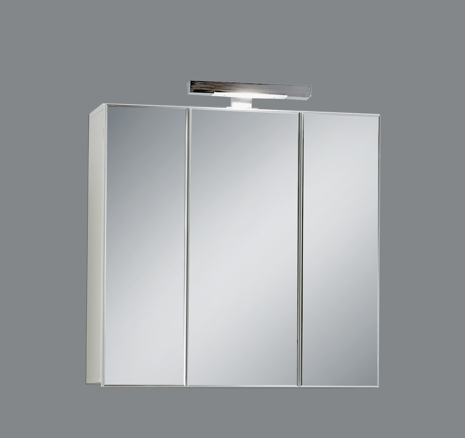 ZAMORA 3 Spiegelschrank inkl Beleuchtung von FMD Weiss