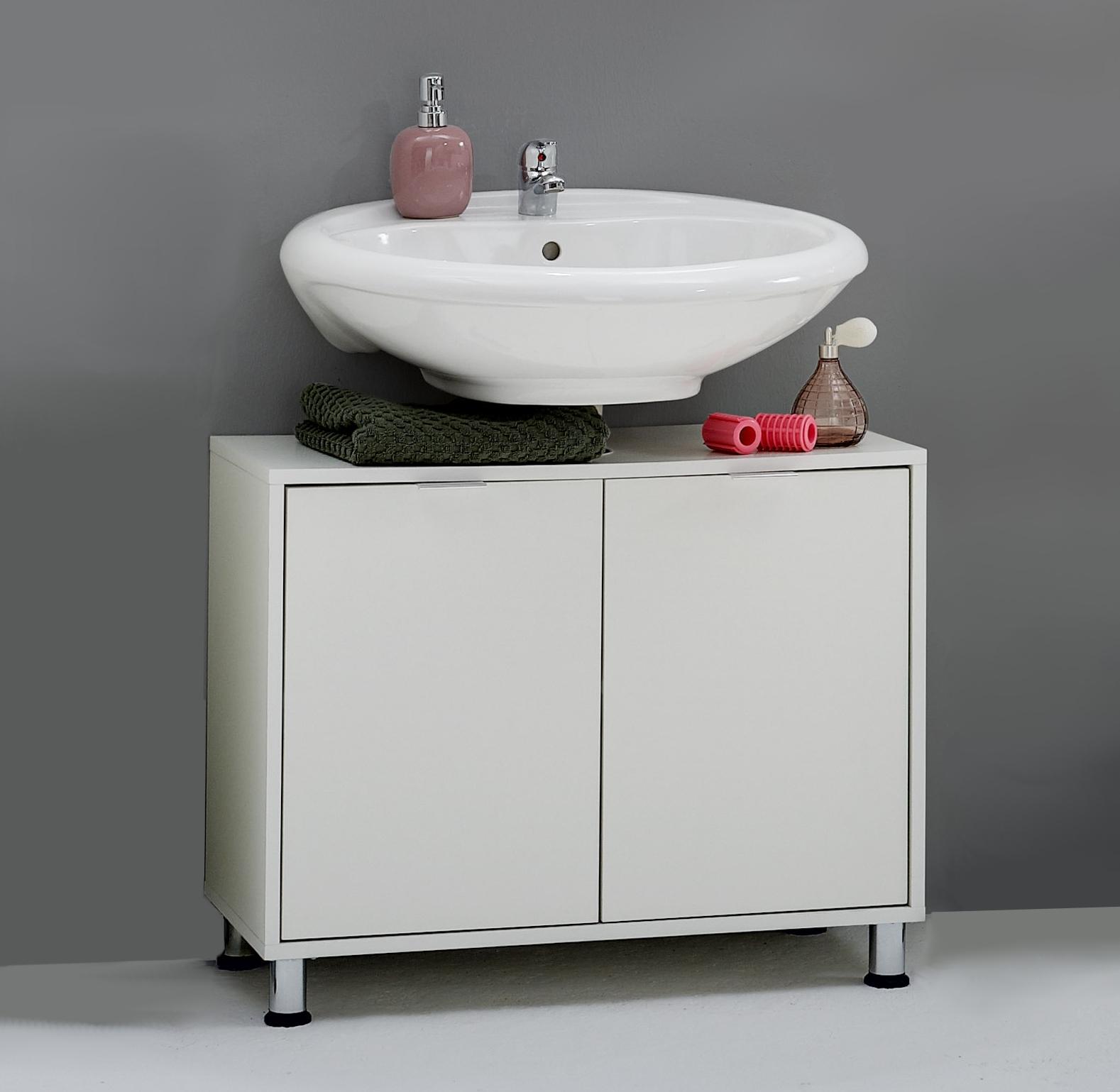 ZAMORA 4 Waschbecken-Unterschrank von FMD Weiss