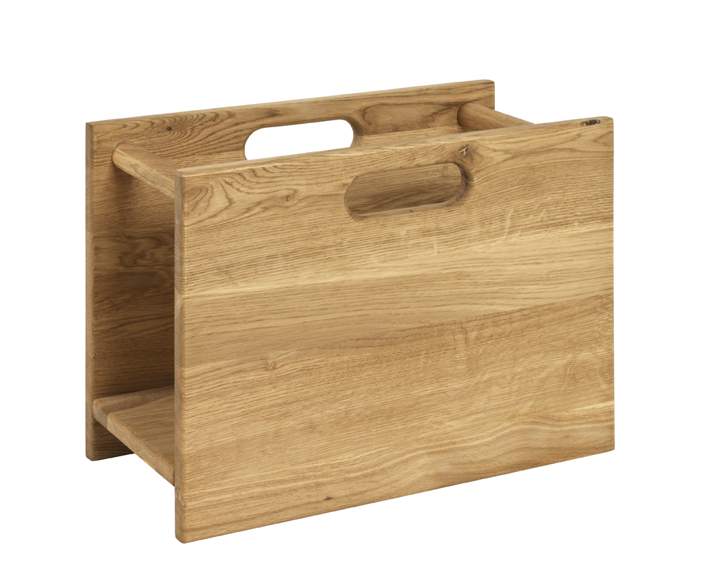zeitungsst nder 13323 von haku eiche ge lt. Black Bedroom Furniture Sets. Home Design Ideas