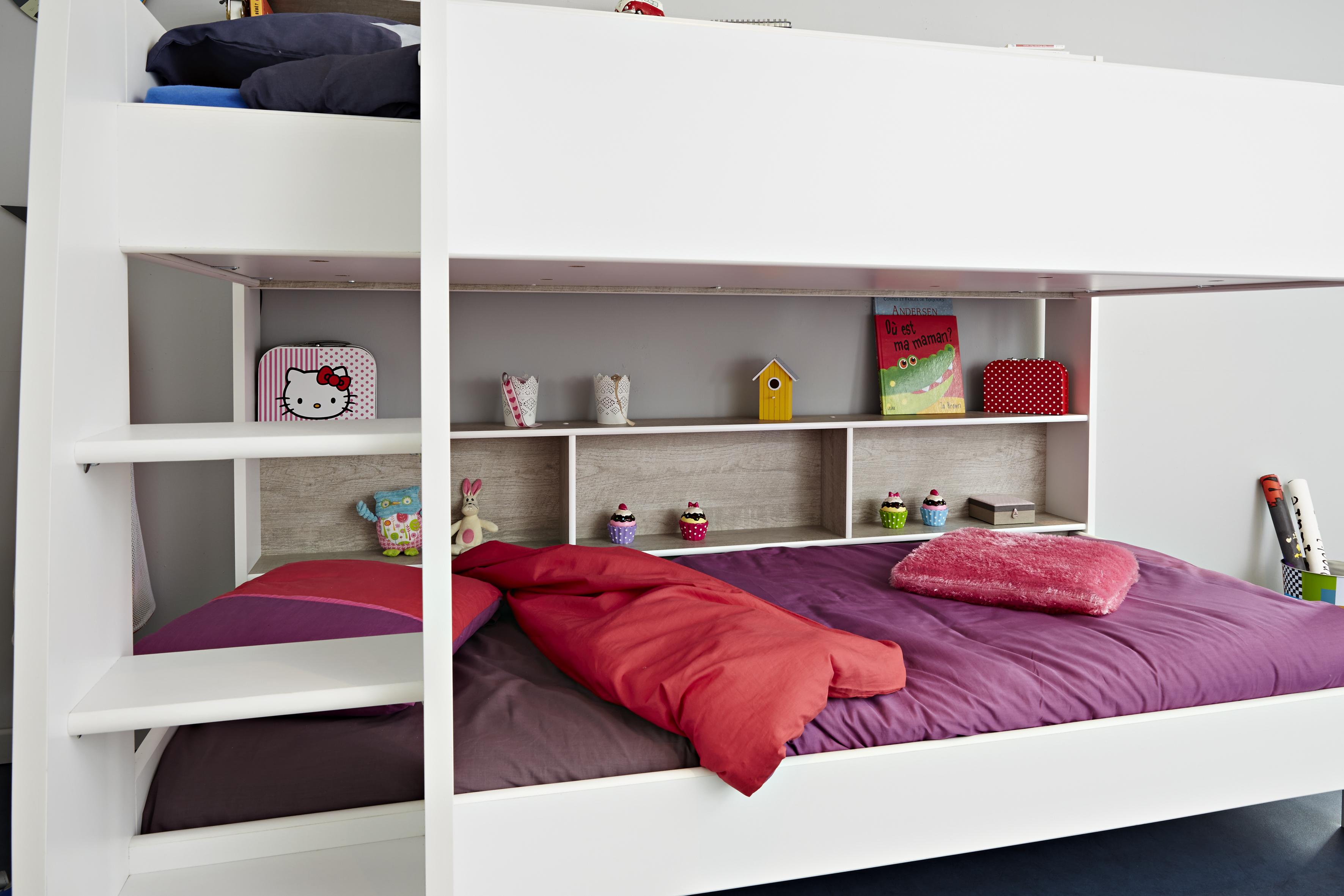 Leiter Schutz Etagenbett : 90x200 etagenbett inkl leiter u bettschubkasten taylor 1 von parisot