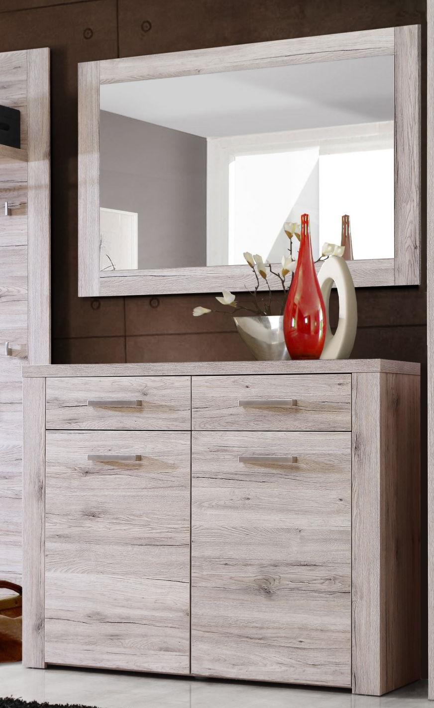 garderobe schuhkommode portland schuhschrank. Black Bedroom Furniture Sets. Home Design Ideas