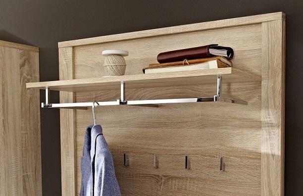 garderobenpaneel go von innostyle sonoma eiche hell sonoma b h t 90 196 27. Black Bedroom Furniture Sets. Home Design Ideas