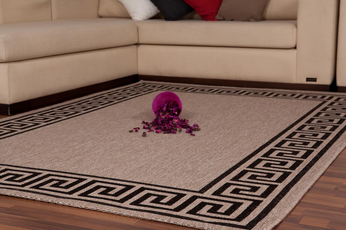 120x170 teppich sweden malm silber. Black Bedroom Furniture Sets. Home Design Ideas