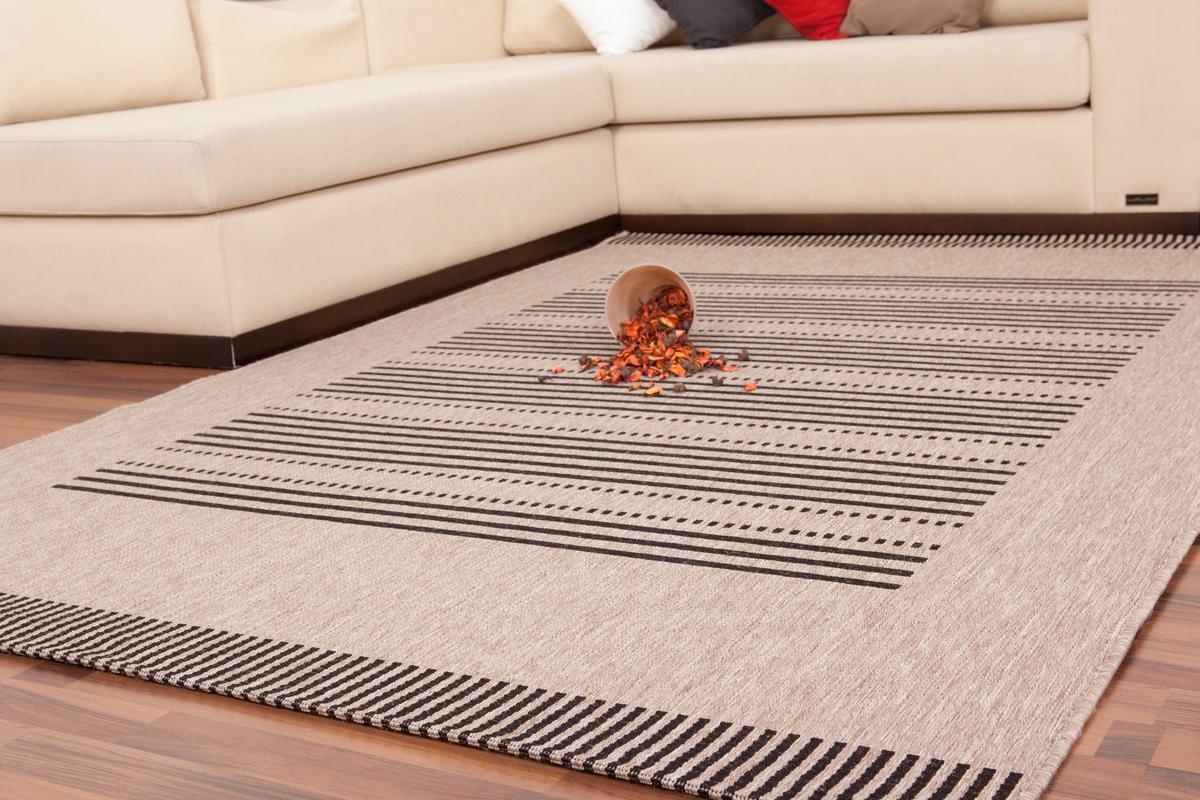 200x290 teppich sweden stockholm silber. Black Bedroom Furniture Sets. Home Design Ideas