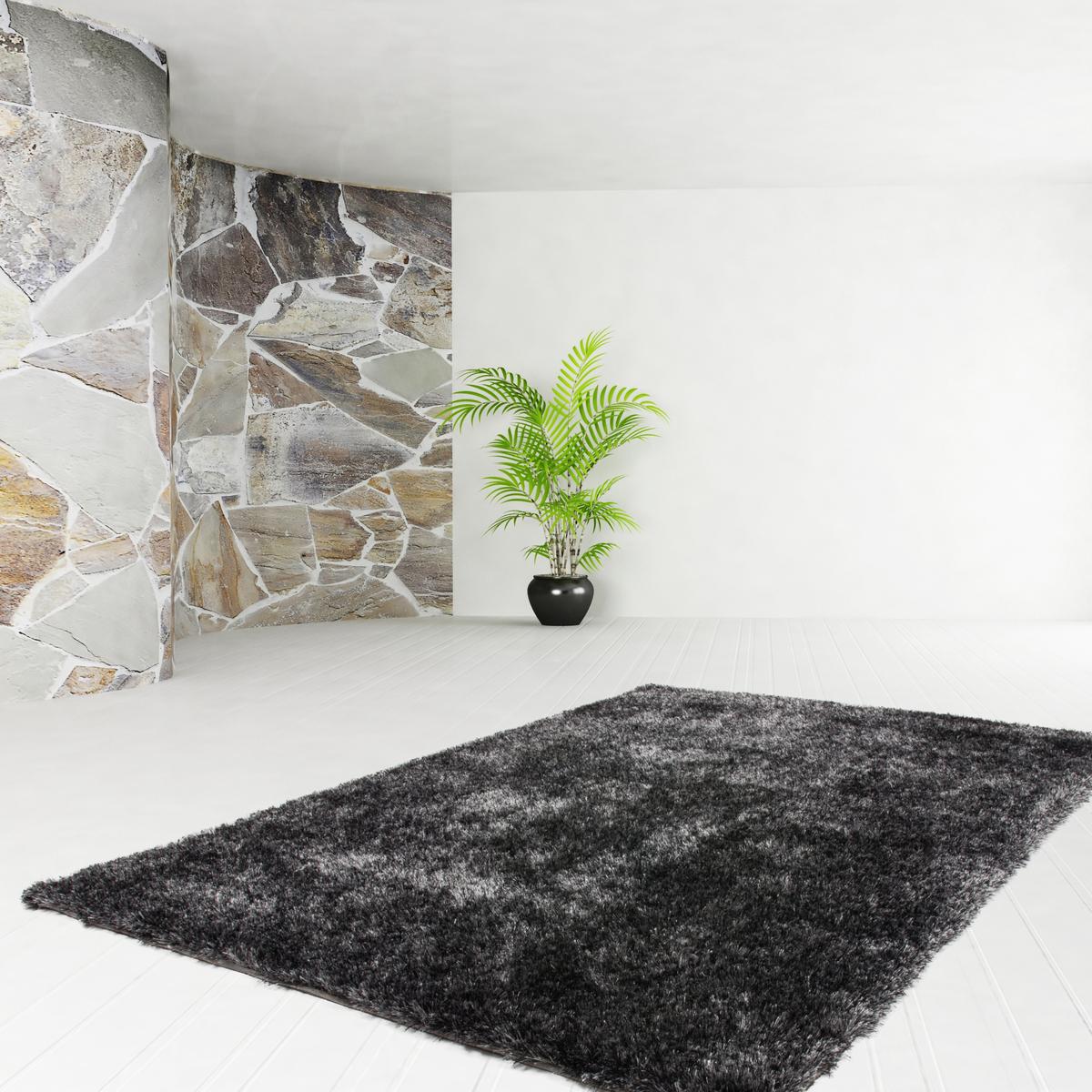 160x230 teppich diamond anthrazit - Anthrazit teppich ...