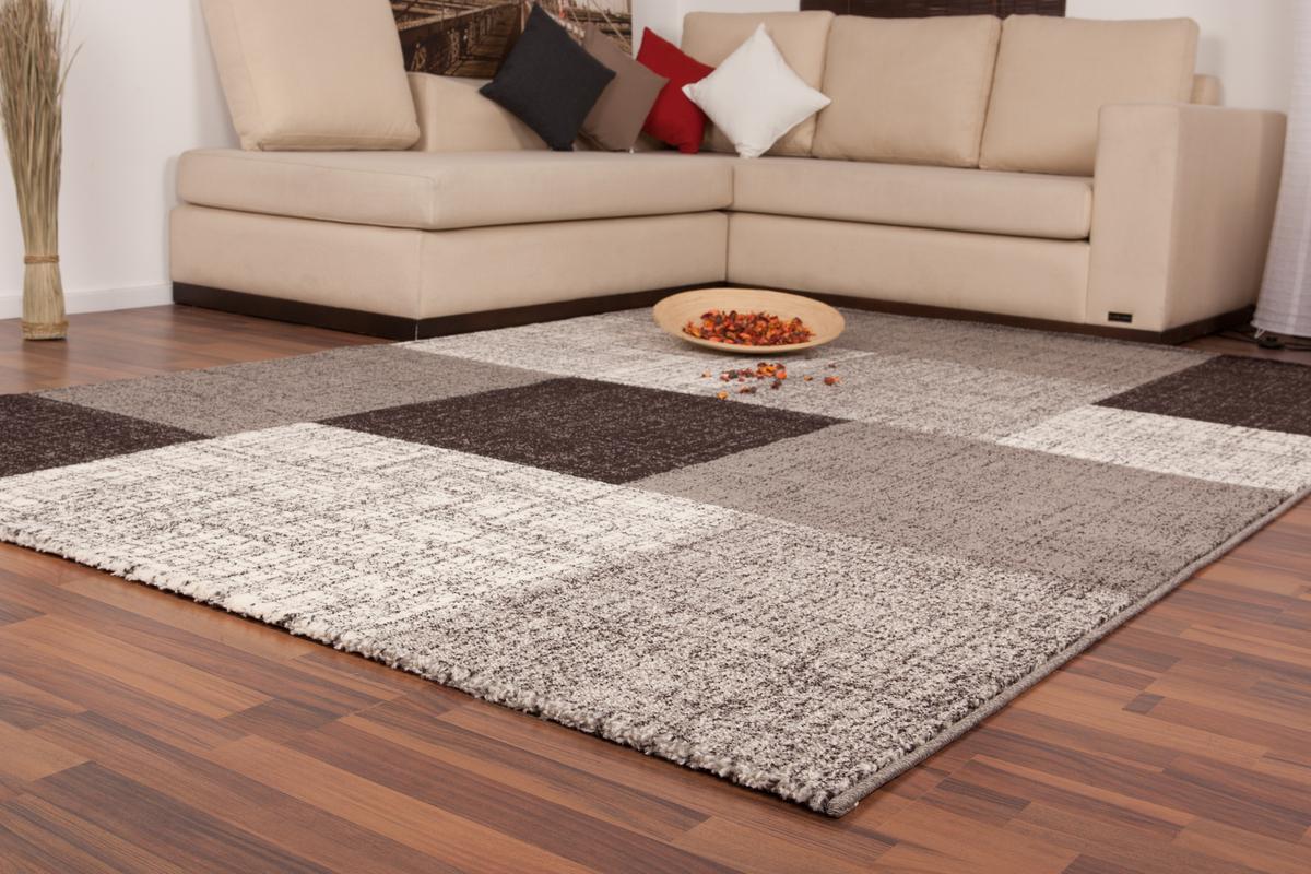 120x170 teppich switzerland geneva silber. Black Bedroom Furniture Sets. Home Design Ideas