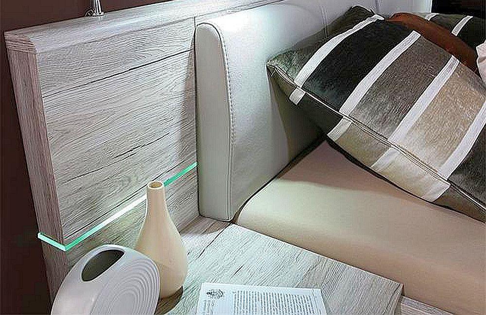 jugendzimmer 180x200 bettanlage rondino mit led beleuchtung. Black Bedroom Furniture Sets. Home Design Ideas