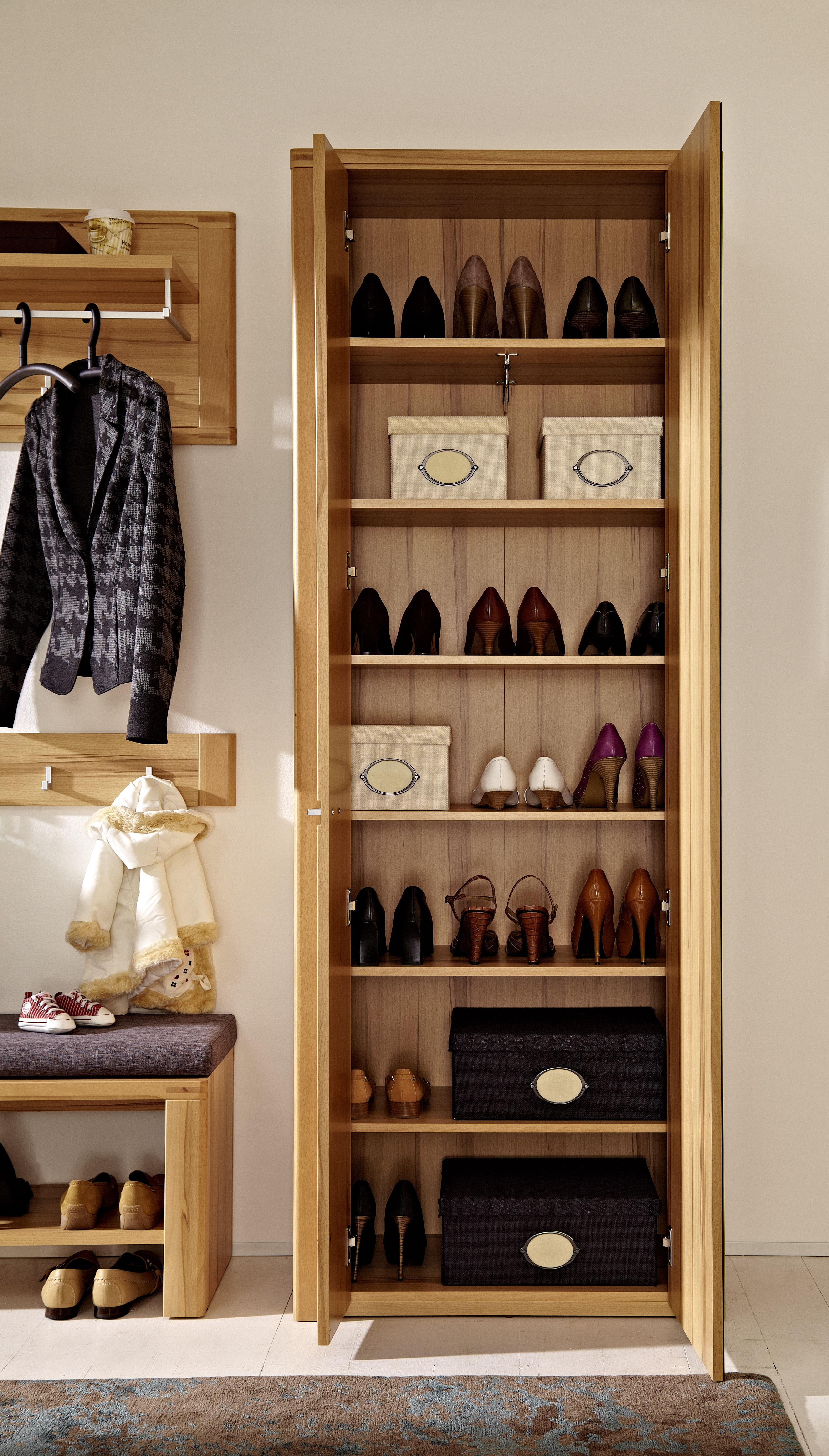Garderobenschrank inkl spiegel nature plus von innostyle for Spiegel plus