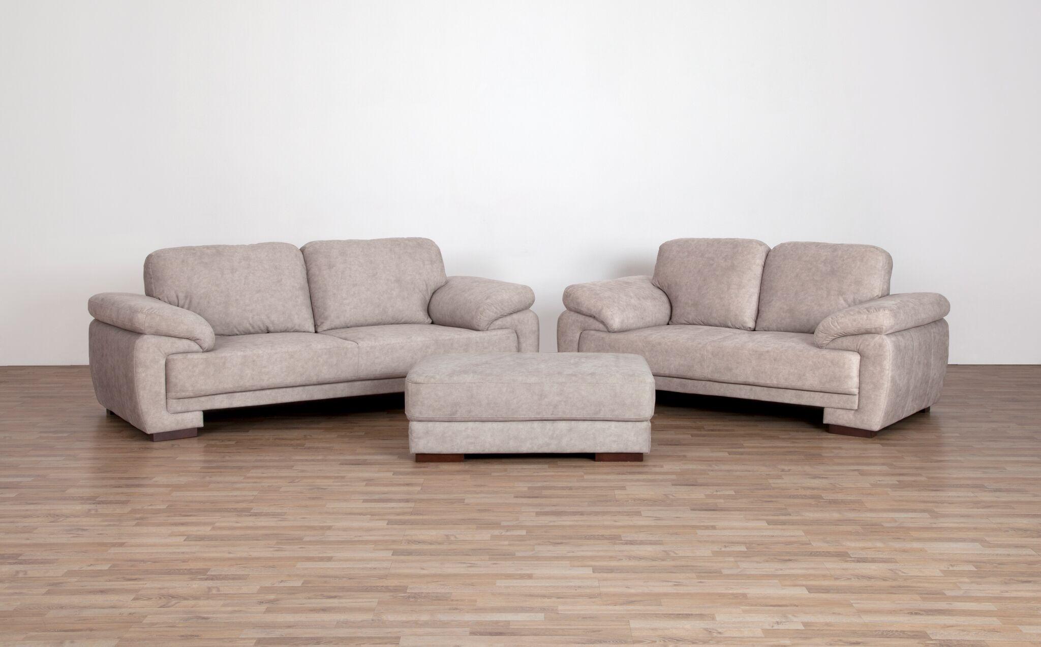 2 er sofa neve von matex hellbraun. Black Bedroom Furniture Sets. Home Design Ideas