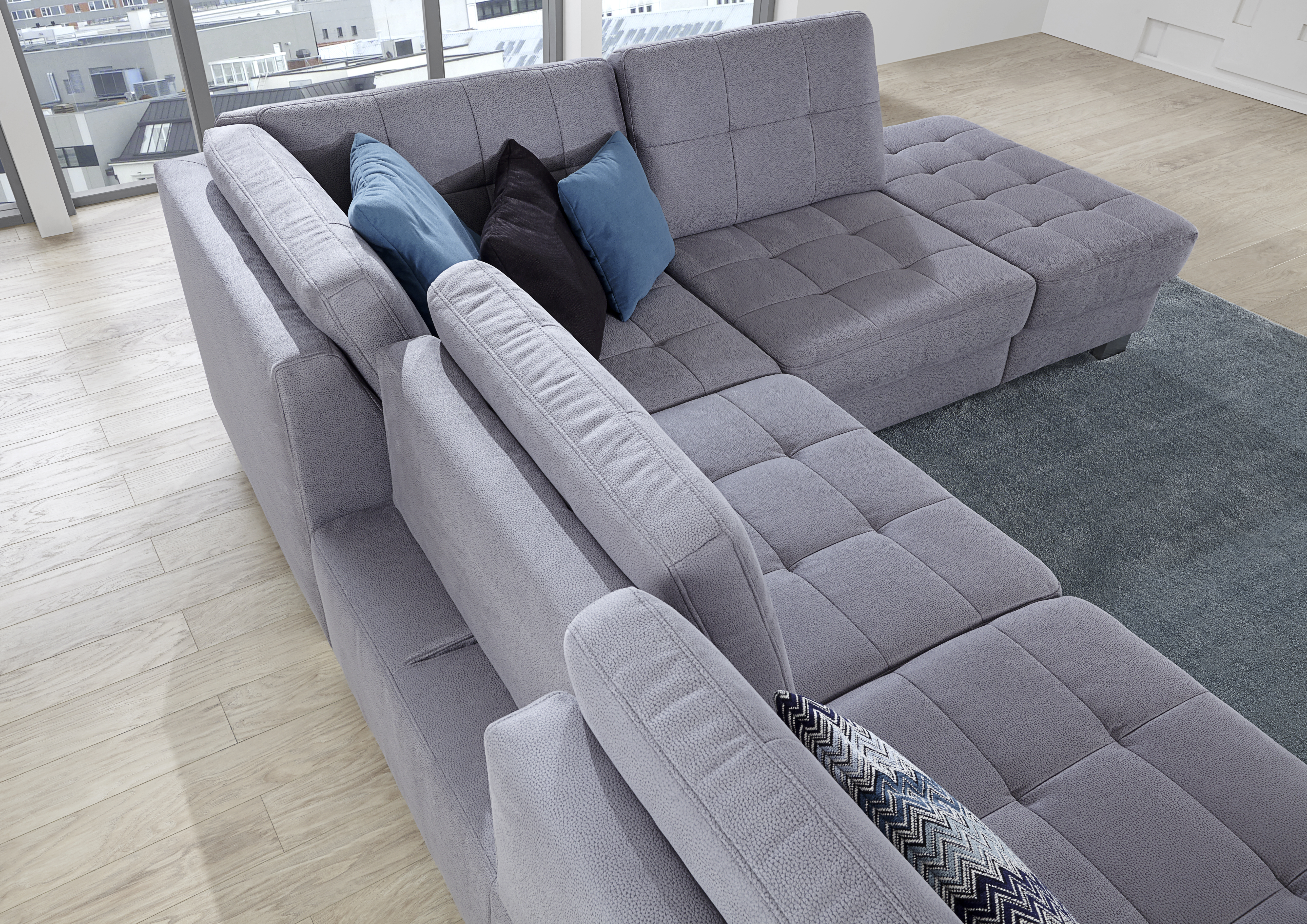 Expandless Expandmore With Puzzle Sofa.