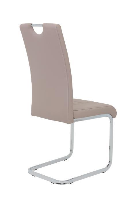 schwingstuhl 4er set ruby s von hela cappuccino. Black Bedroom Furniture Sets. Home Design Ideas