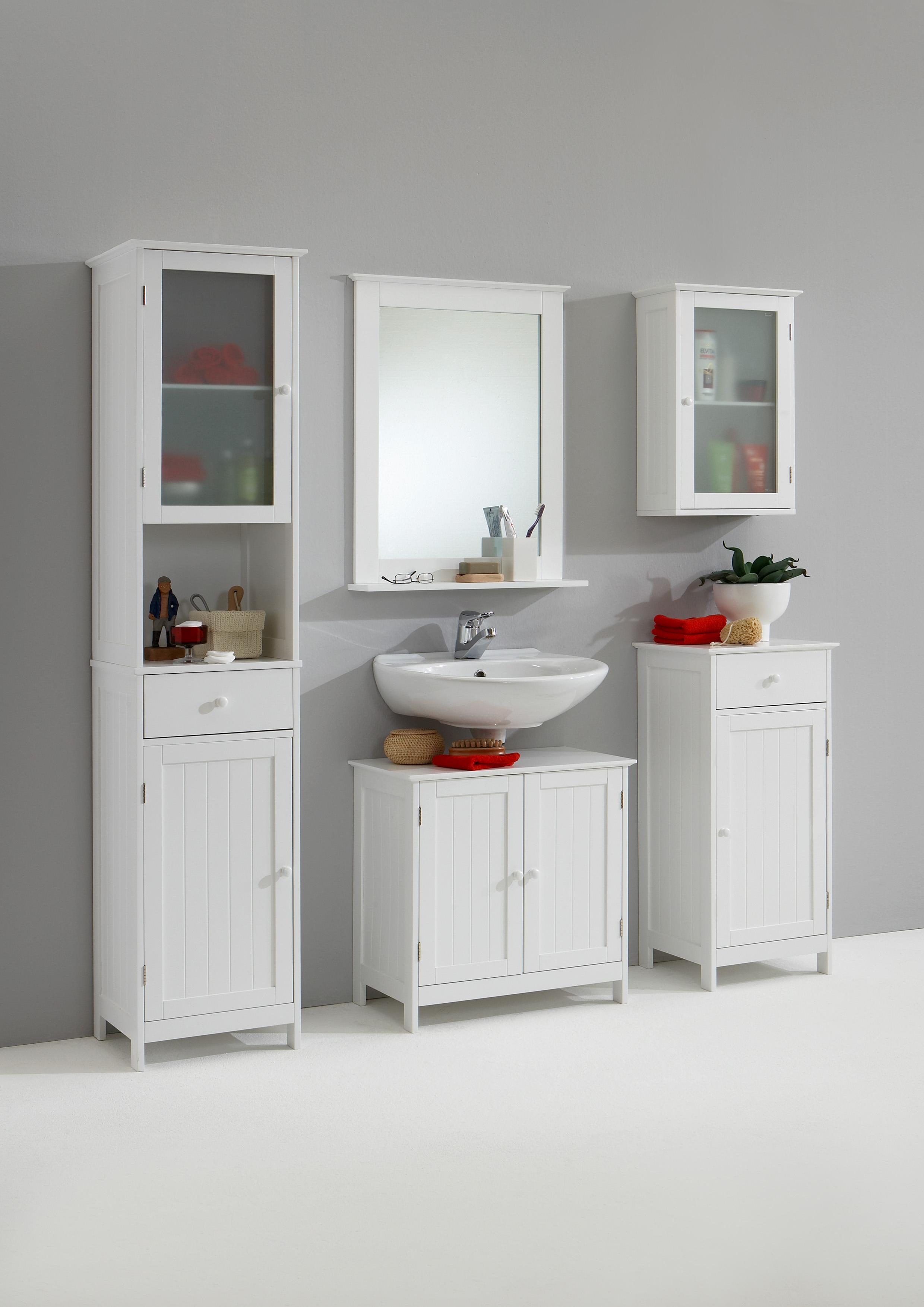 stockholm 4 waschbeckenunter schrank mdf wei lackiert. Black Bedroom Furniture Sets. Home Design Ideas