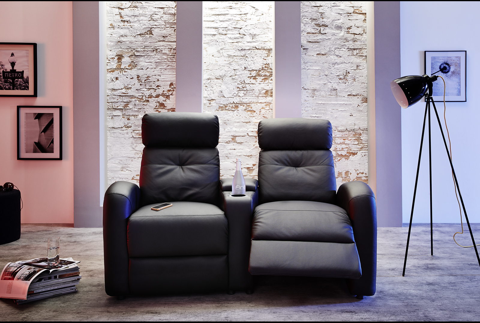 houston 2er cinema sessel. Black Bedroom Furniture Sets. Home Design Ideas