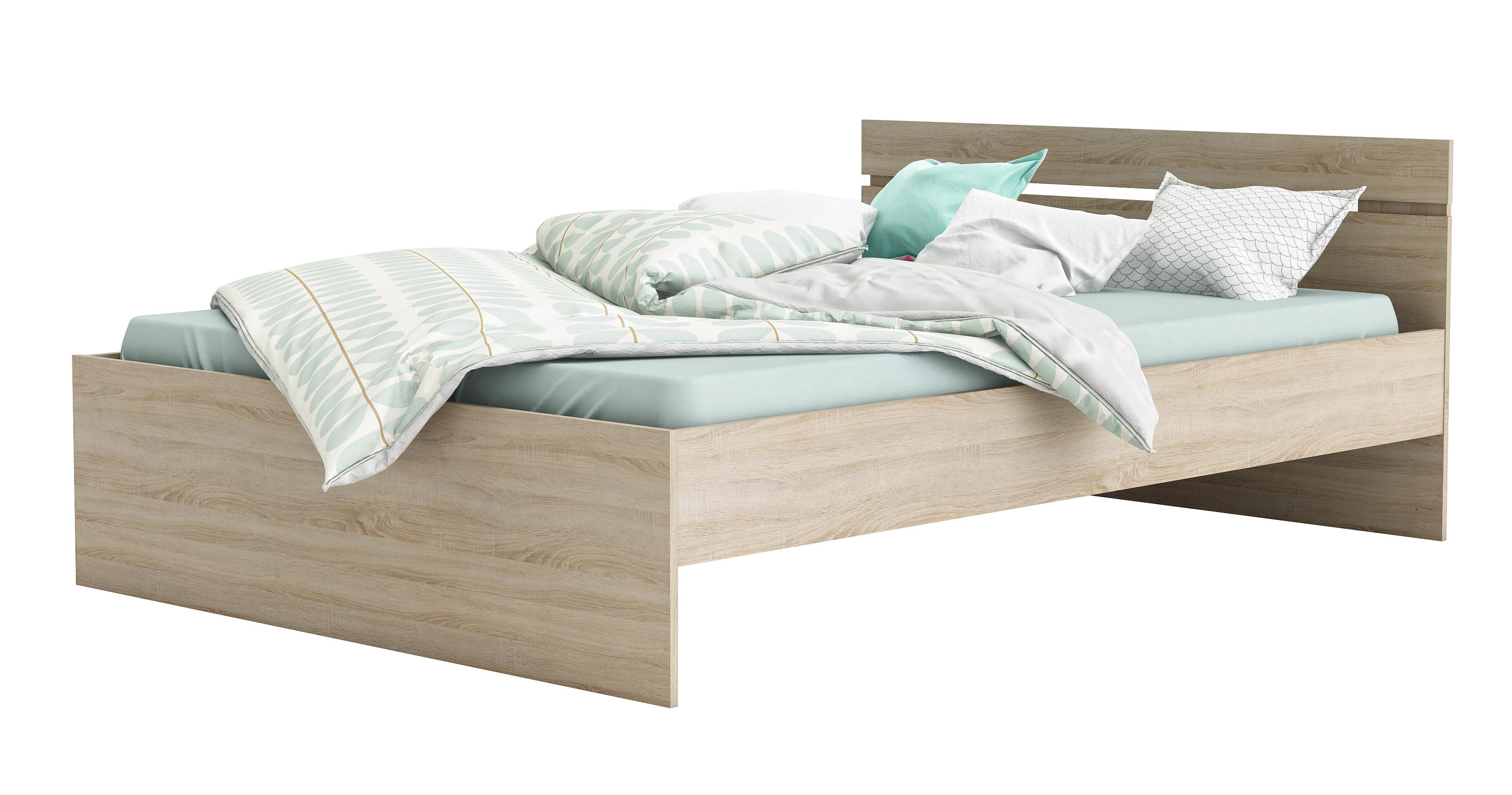 140x200 bett michigan sonoma eiche von demeyere. Black Bedroom Furniture Sets. Home Design Ideas