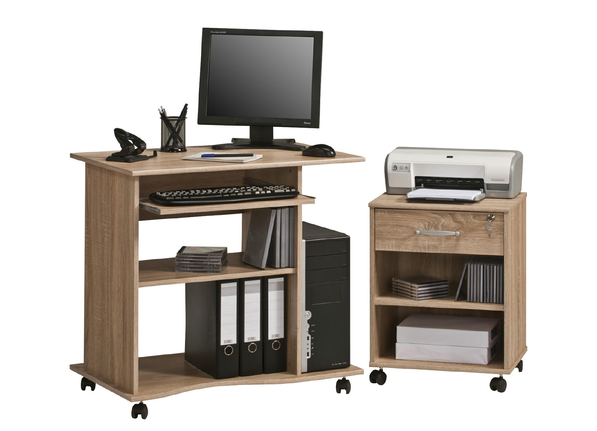 computertisch office von maja sonoma eiche. Black Bedroom Furniture Sets. Home Design Ideas