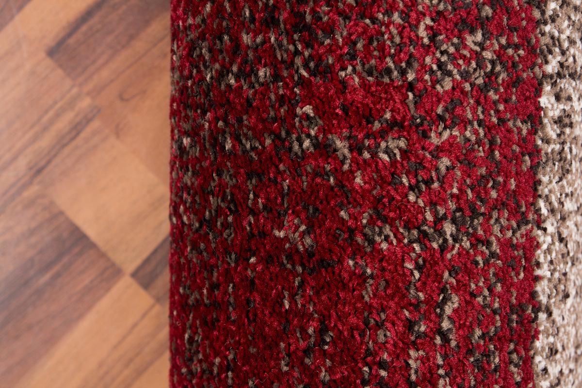 80×150 Teppich Switzerland  Geneva Rot