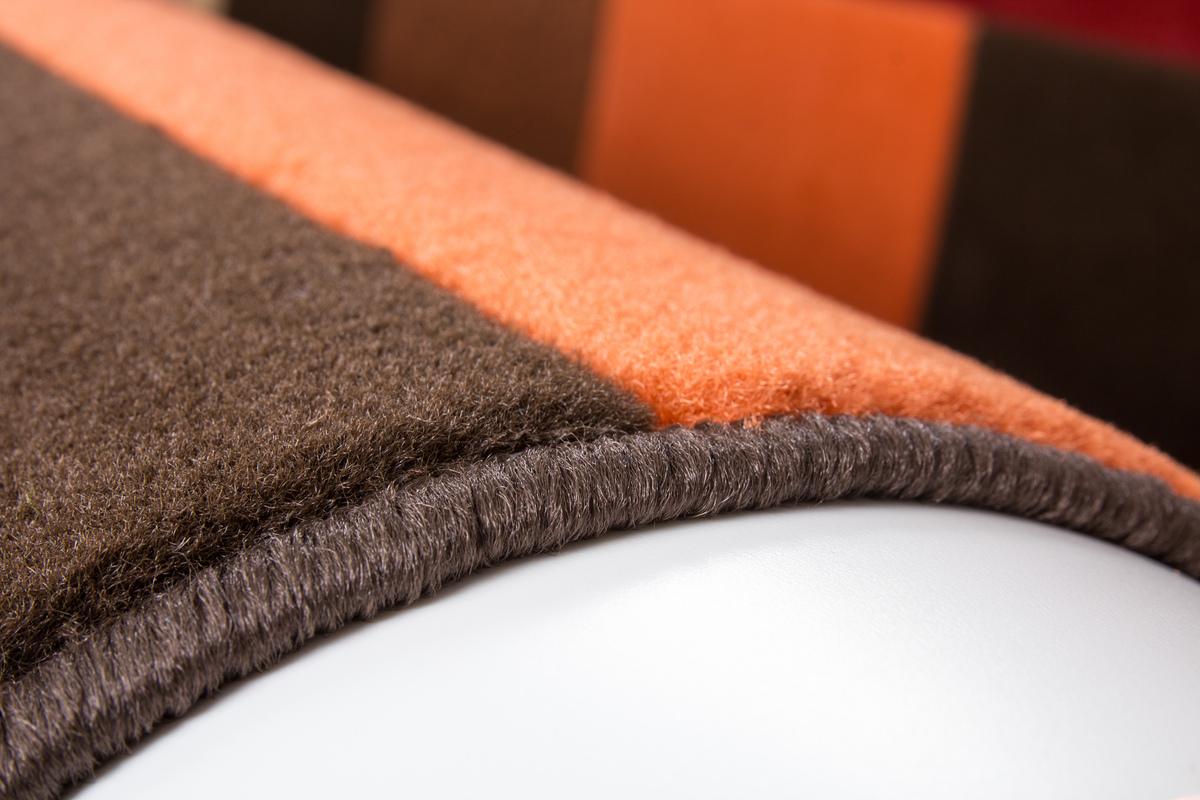 160x230 teppich funky 2034 rot von kayoom. Black Bedroom Furniture Sets. Home Design Ideas