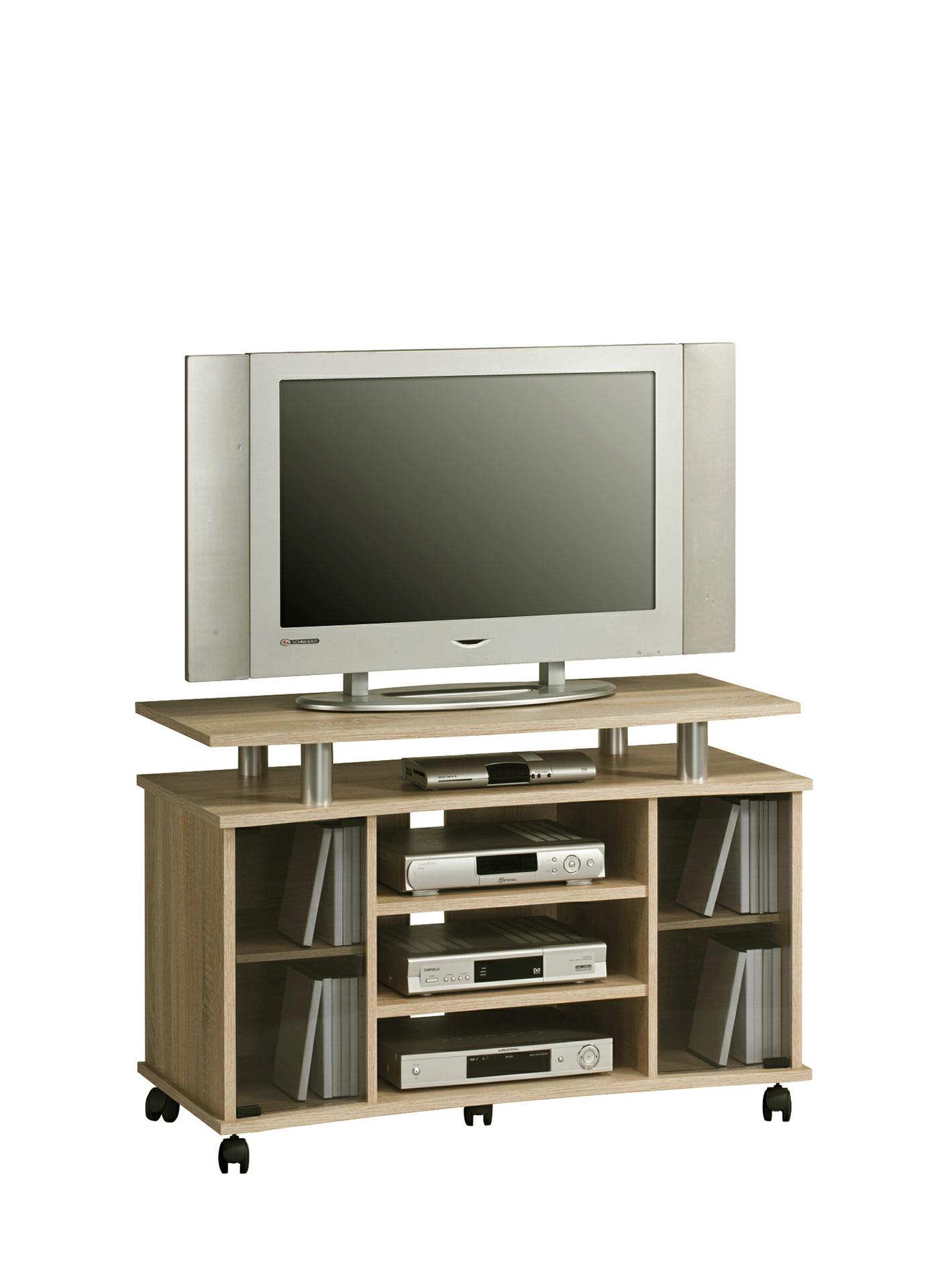 tv hifi m bel phonoregal media 7362 von maja sonoma eiche. Black Bedroom Furniture Sets. Home Design Ideas