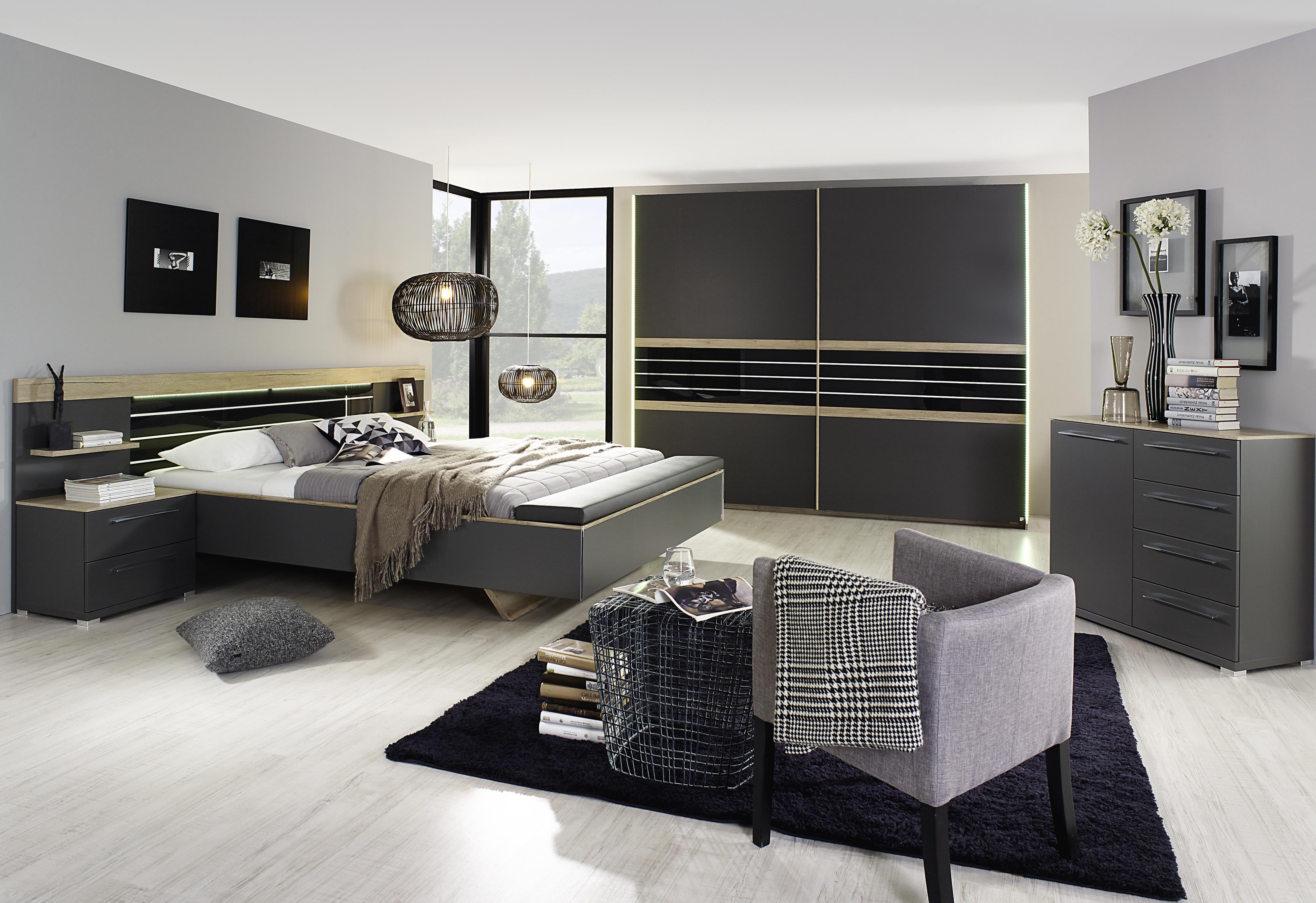 schlafzimmer 3 tlg coleen von rauch dialog kombi a wei. Black Bedroom Furniture Sets. Home Design Ideas