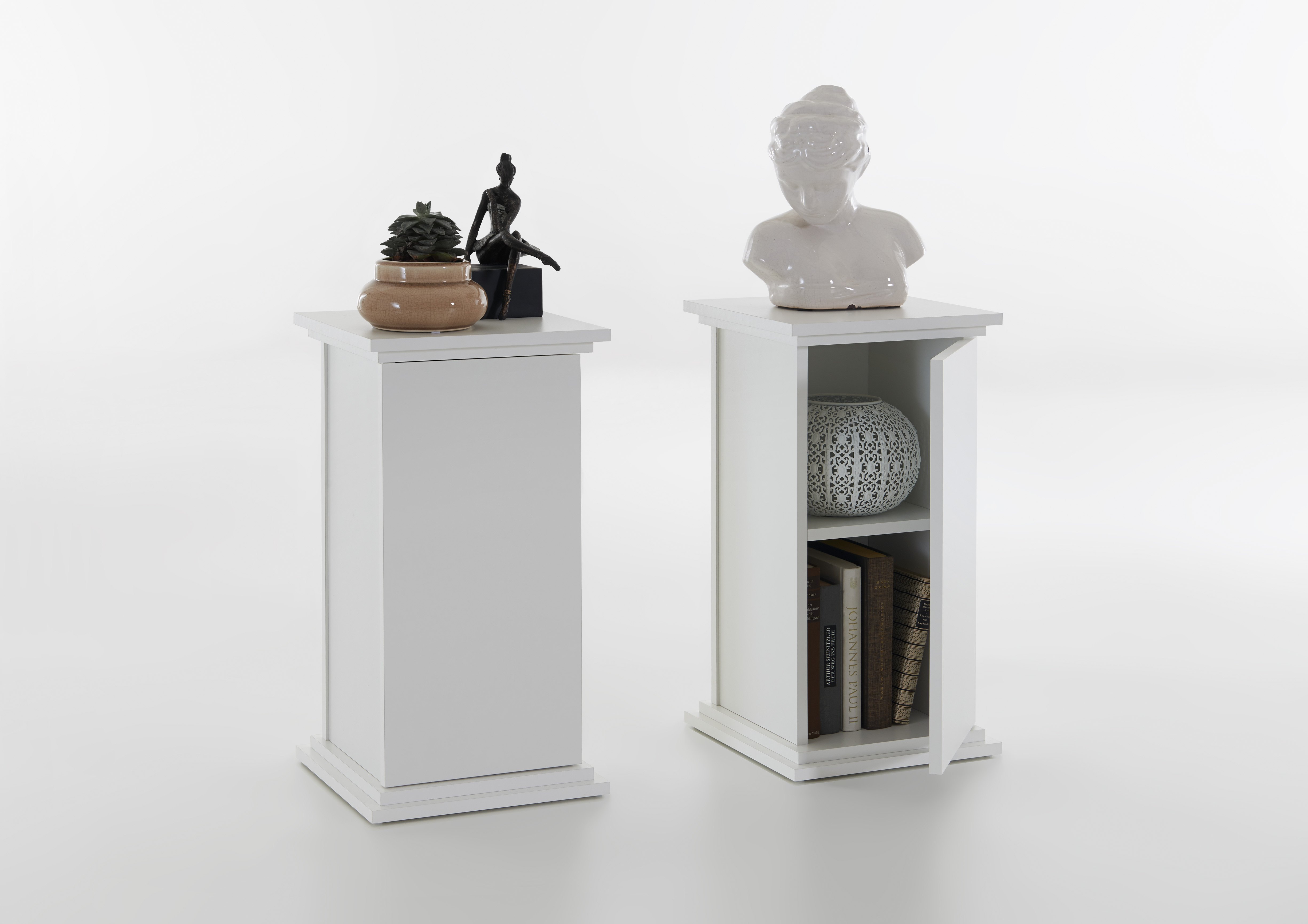 essex 1 dekos ule von fmd wei. Black Bedroom Furniture Sets. Home Design Ideas