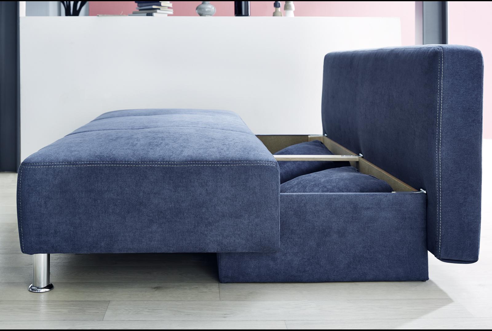 dauerschl fer inkl bettkasten kairo von job braun. Black Bedroom Furniture Sets. Home Design Ideas