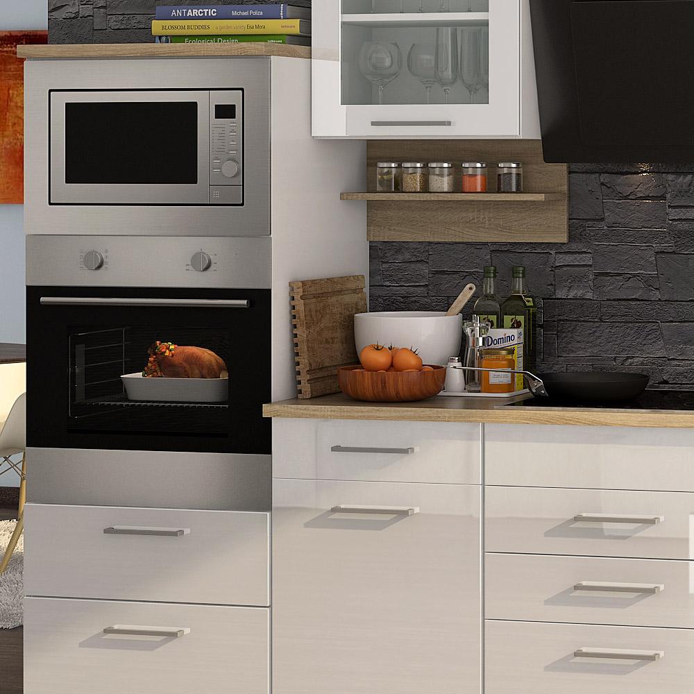k chenblock inkl e ger te und geschirrsp ler teilintegriert 340 cm breit mailand 340gs von held. Black Bedroom Furniture Sets. Home Design Ideas