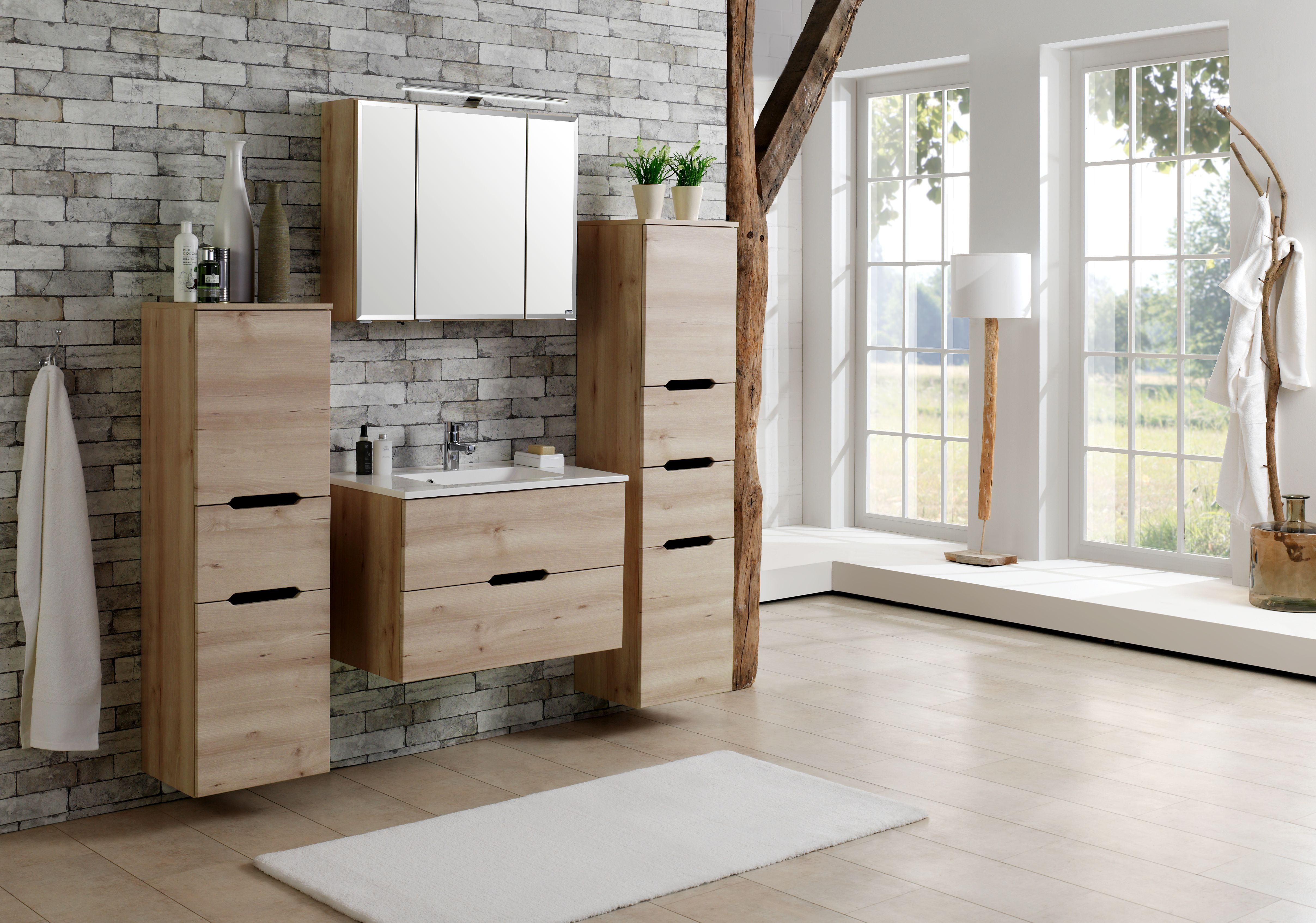 spiegelschrank 60 inkl led beleuchtung belluno von held m bel buche iconic. Black Bedroom Furniture Sets. Home Design Ideas