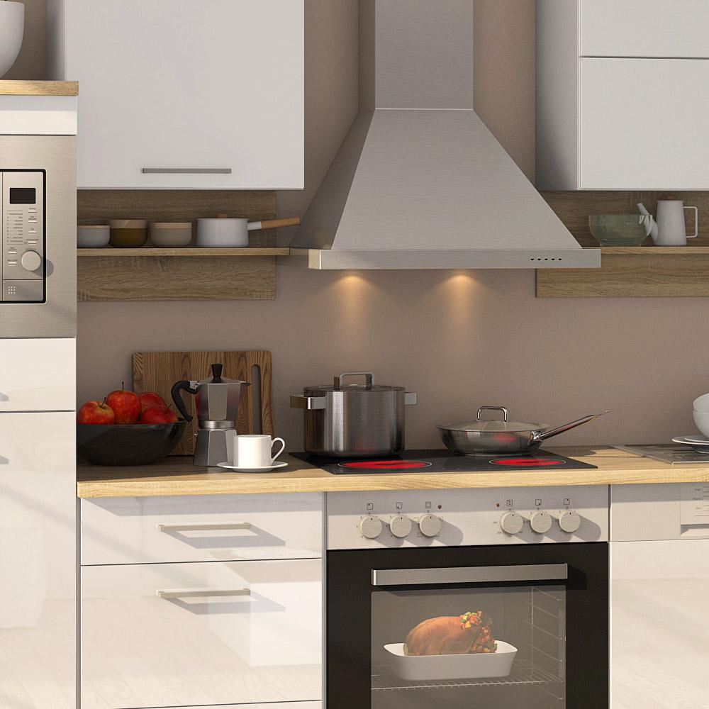 k chenblock inkl e ger te und geschirrsp ler teilintegriert 280 cm breit mailand 280gs von held. Black Bedroom Furniture Sets. Home Design Ideas
