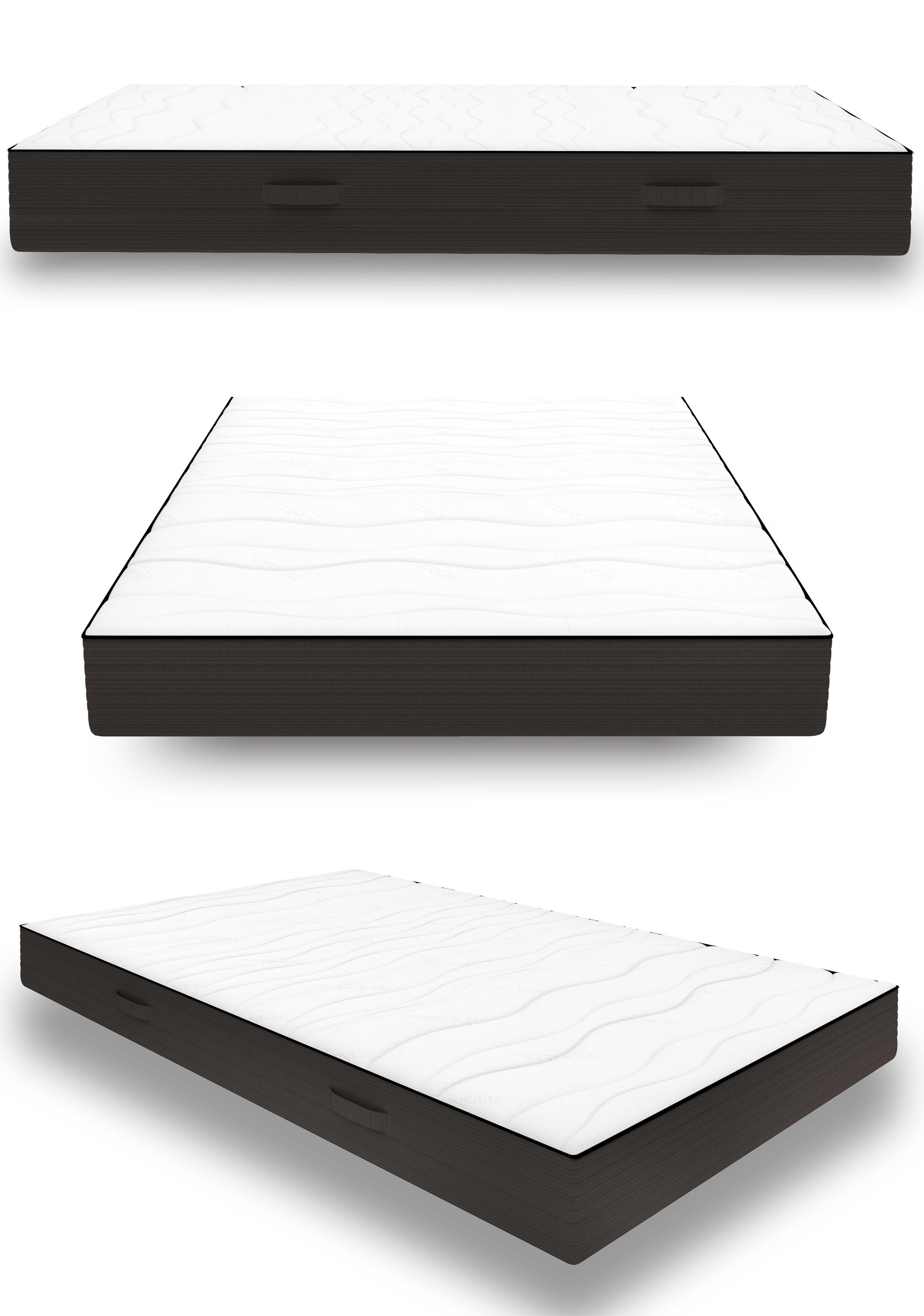 160x200 7 zonen qps one fits all matratze rasti weich fest inkl wendekern. Black Bedroom Furniture Sets. Home Design Ideas